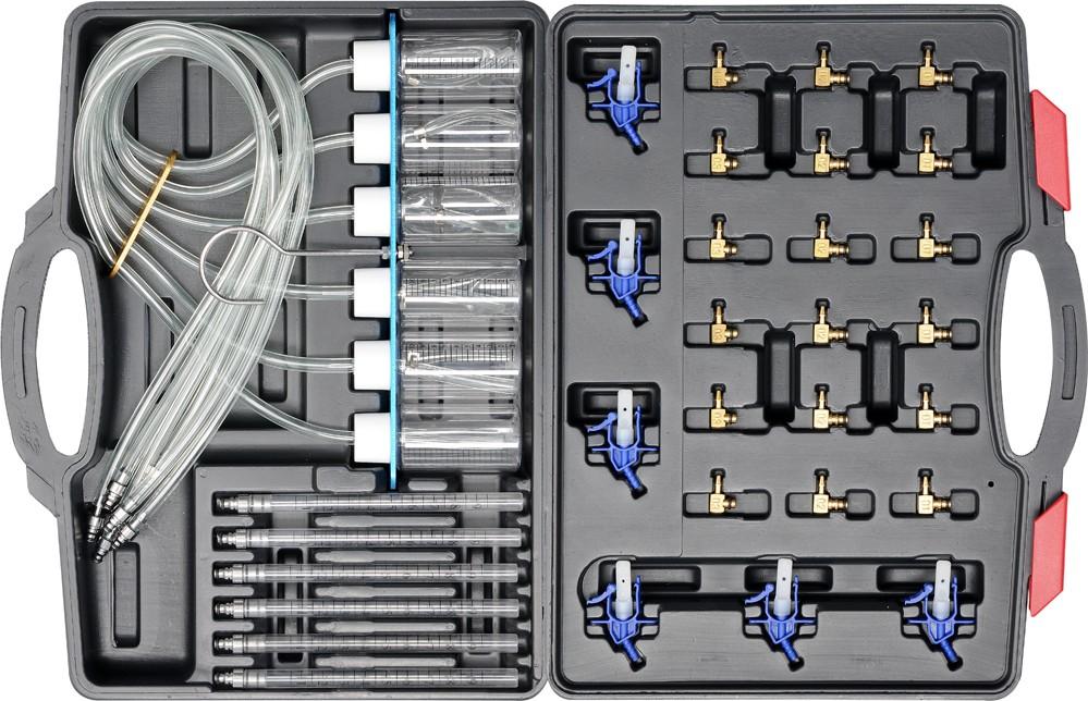 Souprava na diagnostiku vstřikovačů,průtoková 31ks