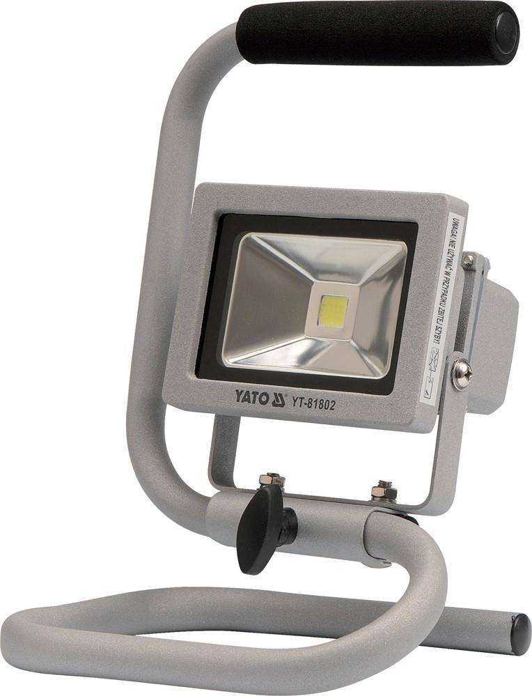 Reflektor přenosný s vysoce svítivou COB LED. 10W. 700lm. IP65. 1.8m kabel