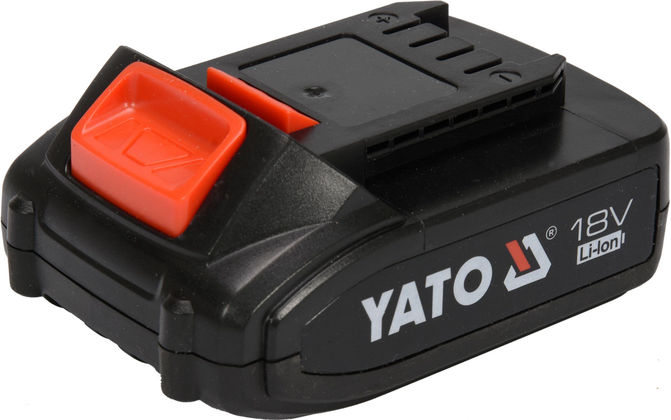 Baterie náhradní 18V Li-ion 2.0 AH (YT-82782. YT-82788.YT-82826.YT-82804)