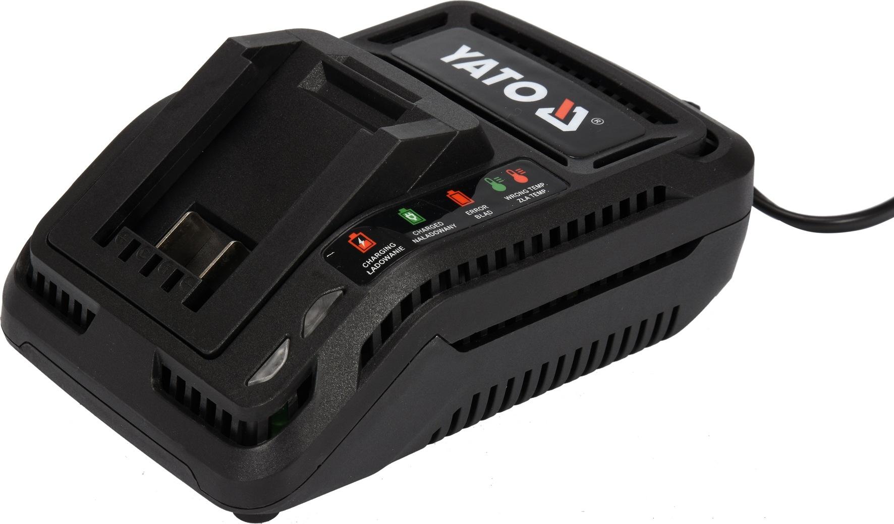 Nabíječka na AKU baterie 18 V pro YT-82842. YT-82843. YT-82844. YT-82804