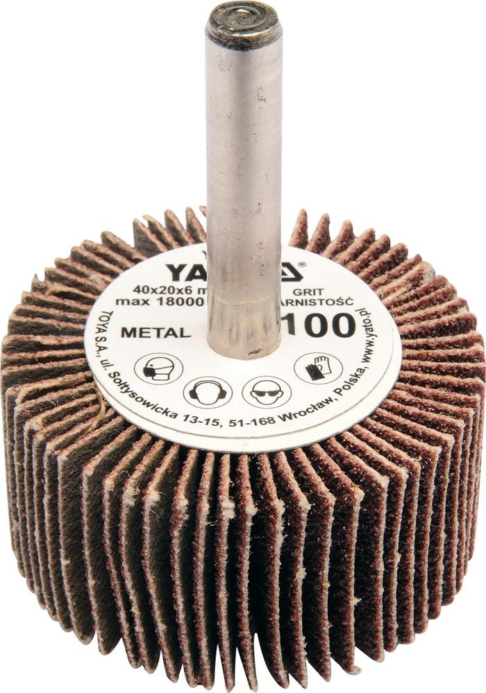Kotouč lamelový radiální 40x20 P-100 s hřídelí 6 mm
