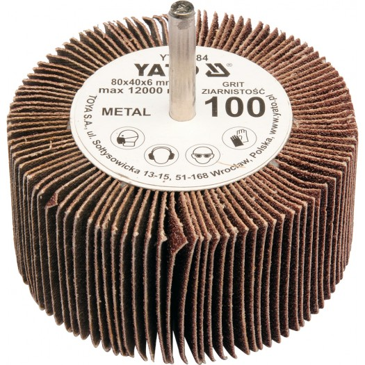 Kotouč lamelový radiální 80x40 P-40 s hřídelí 6 mm
