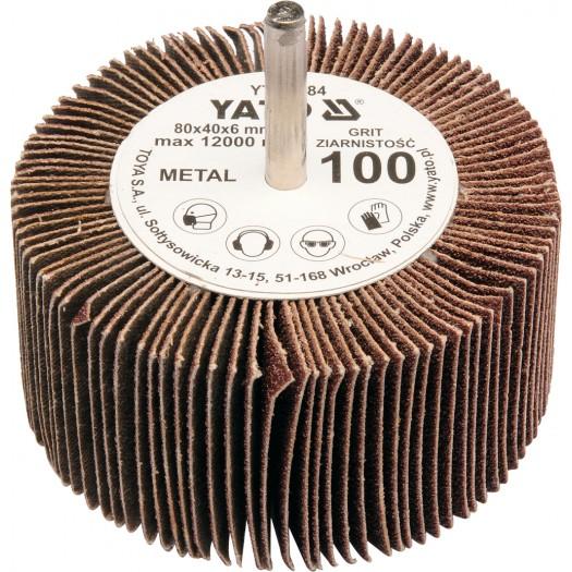Kotouč lamelový radiální 80x40 P-80 shřídelí 6mm
