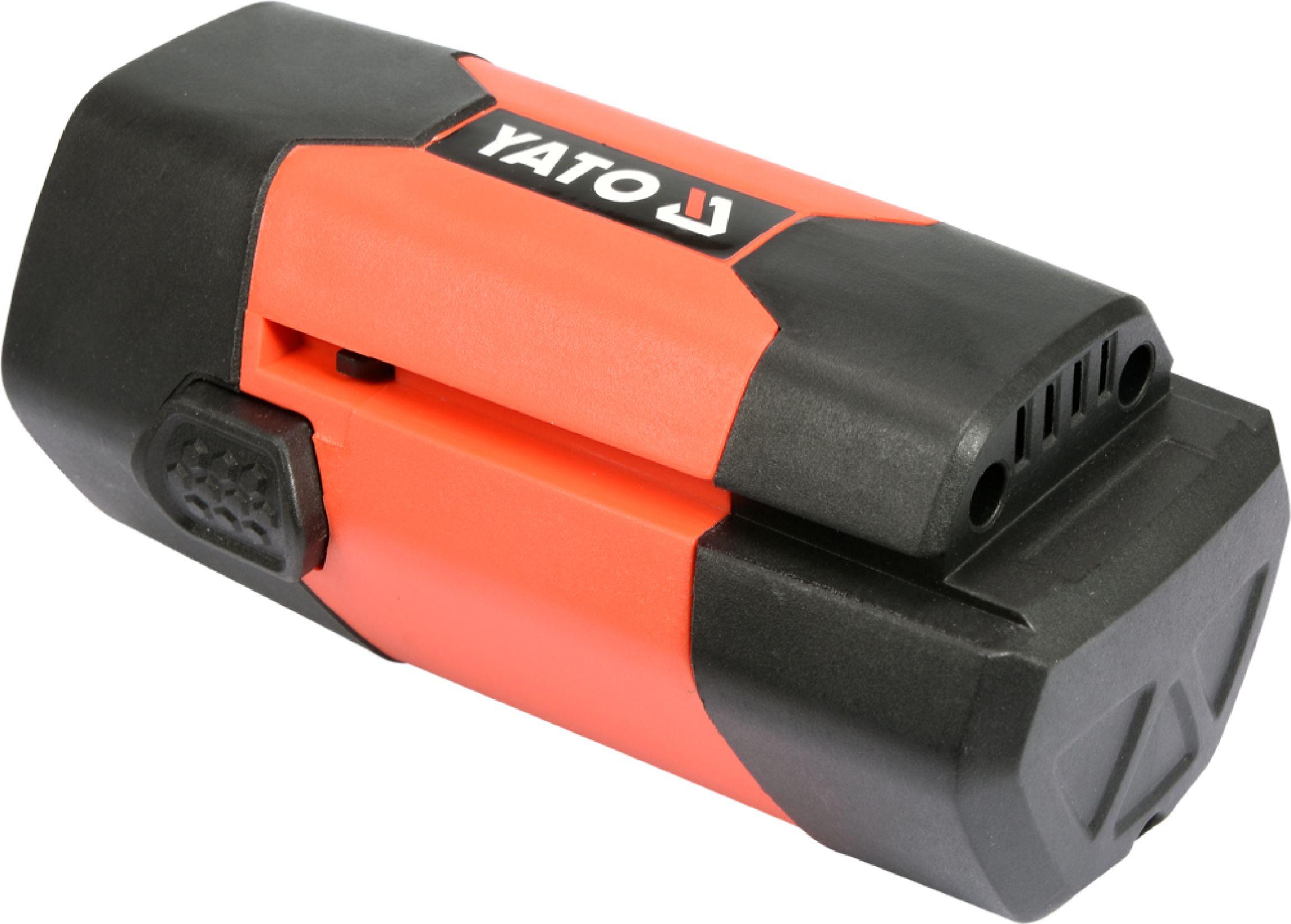 Baterie náhradní 18V Li-ion 3.0 AH (YT-85110. YT-85120)