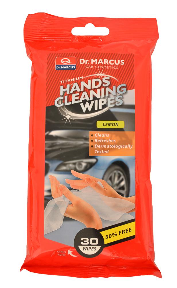 DM HANDS CLEANING 30ks LEMON - čistící ubrousky na ruce
