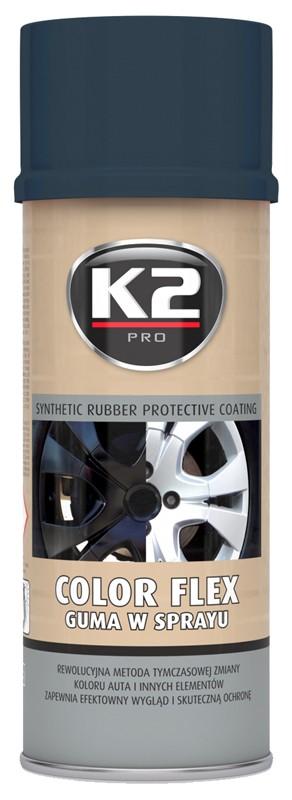 K2 COLOR FLEX 400 ml (carbon)